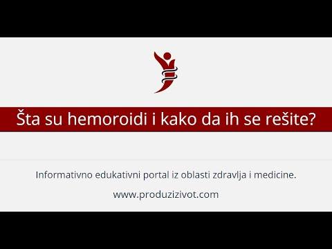 hipertenzije i hemoroidi