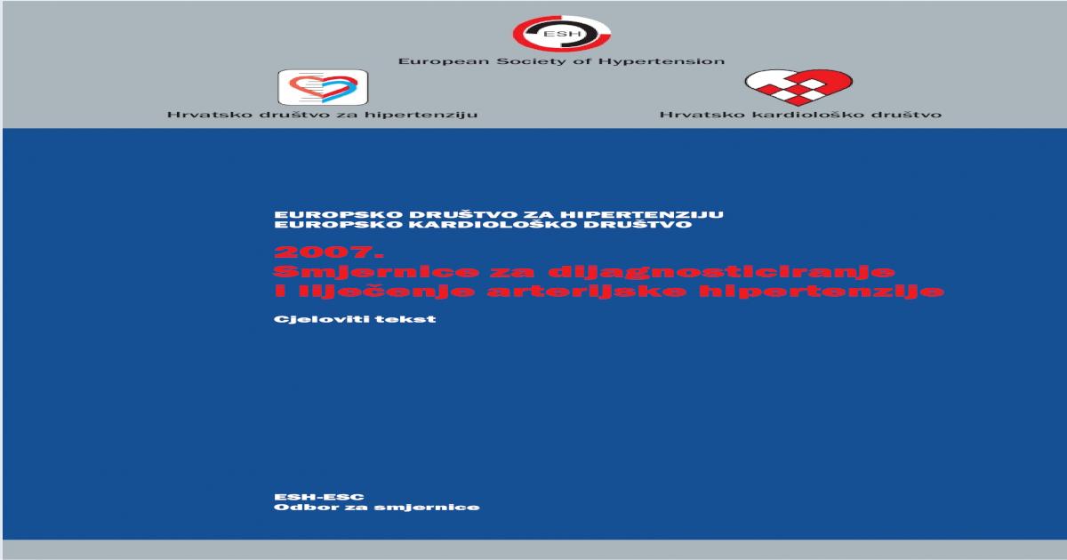 sartana liječenje hipertenzije terapijska svojstva datumi hipertenzije