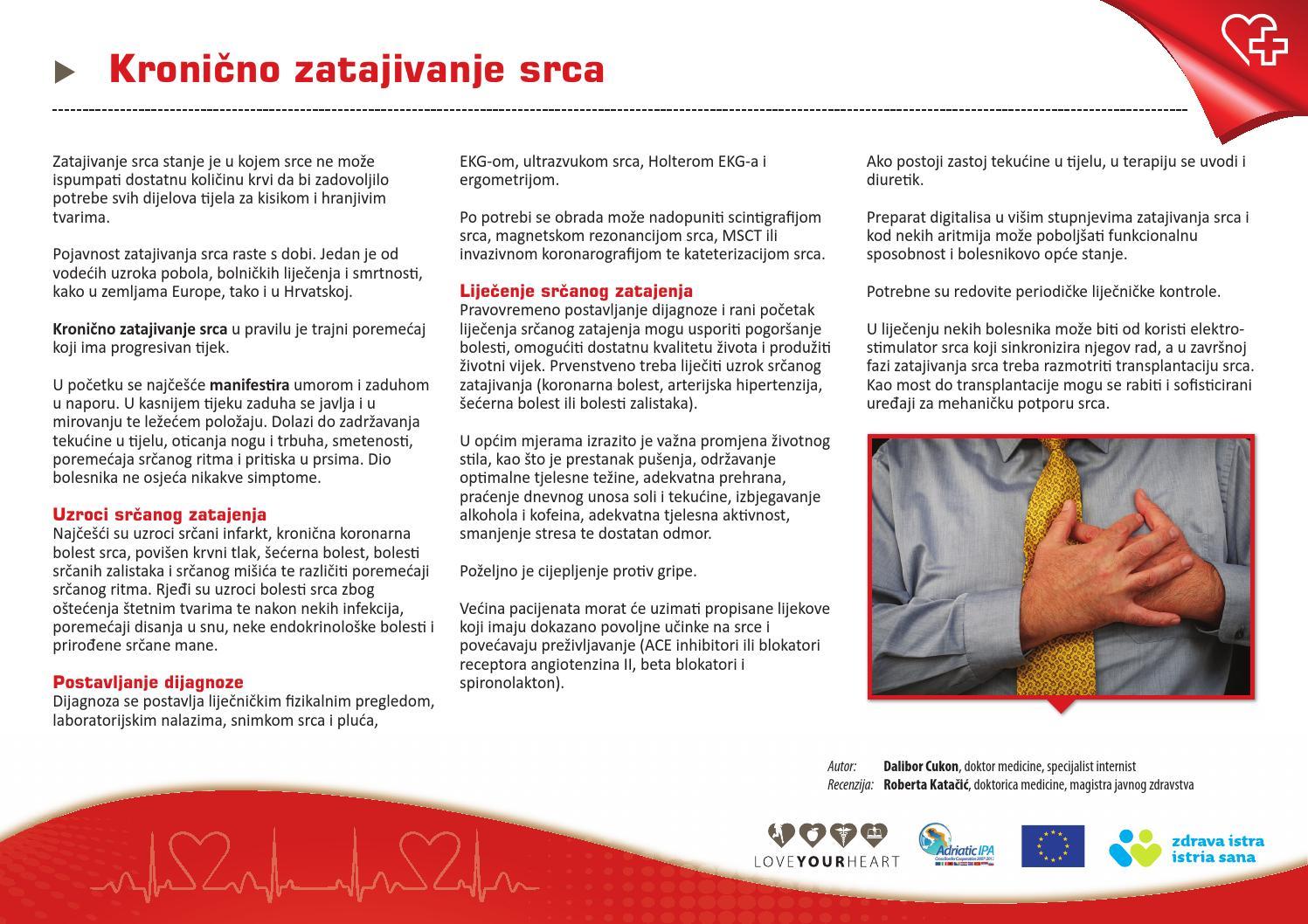 hipertenzija i liječenje bolesti koronarne srčane