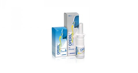 Nasoryl M 0,5 mg/ml + 0,6 mg/ml sprej za nos, otopina — Mediately Baza Lijekova