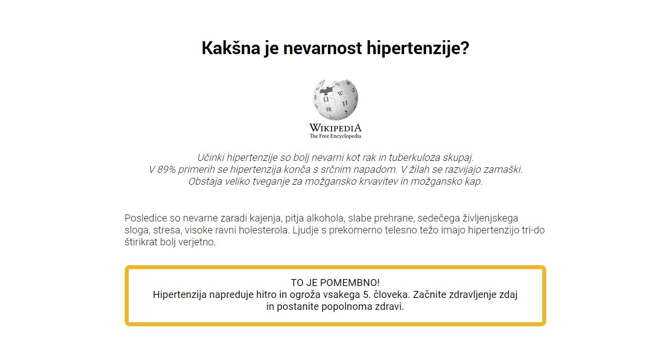 bioflavonoid iz hipertenzije