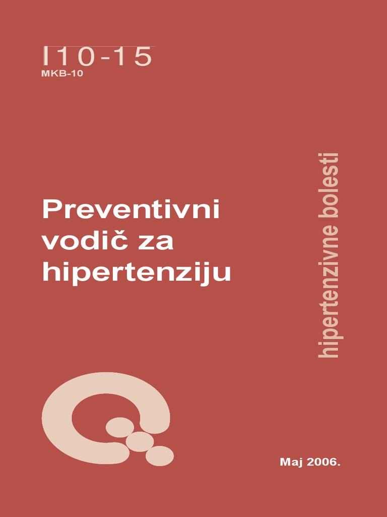 who preporuke za liječenje hipertenzije sam hipertenzije i kroničnih proljeva