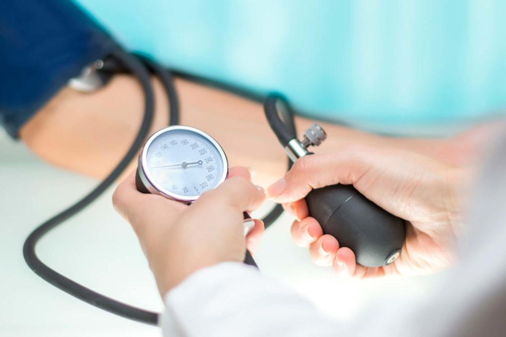 svi vanjski znakovi hipertenzije