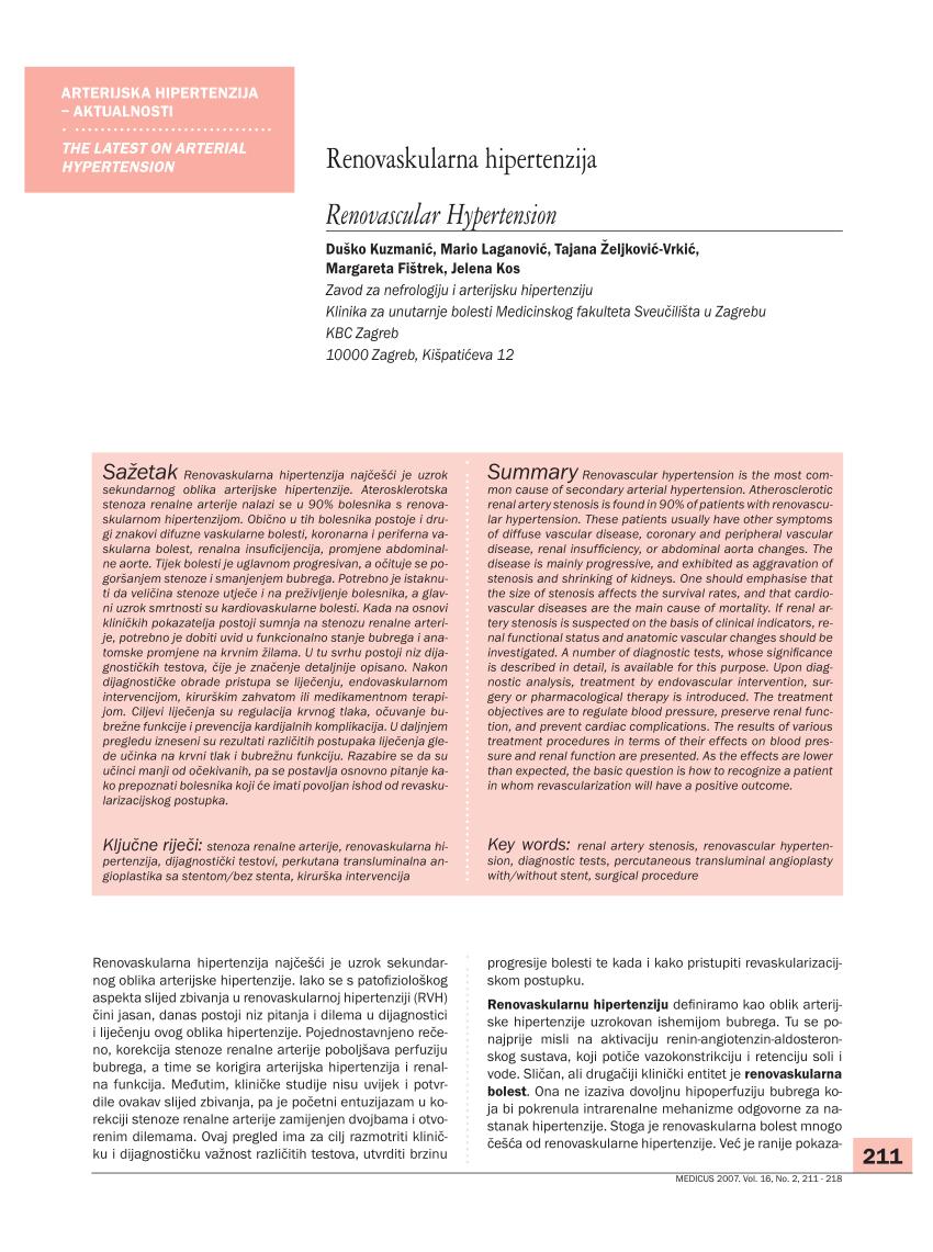 Rijetki juvenilni primarni sistemski vaskulitisi