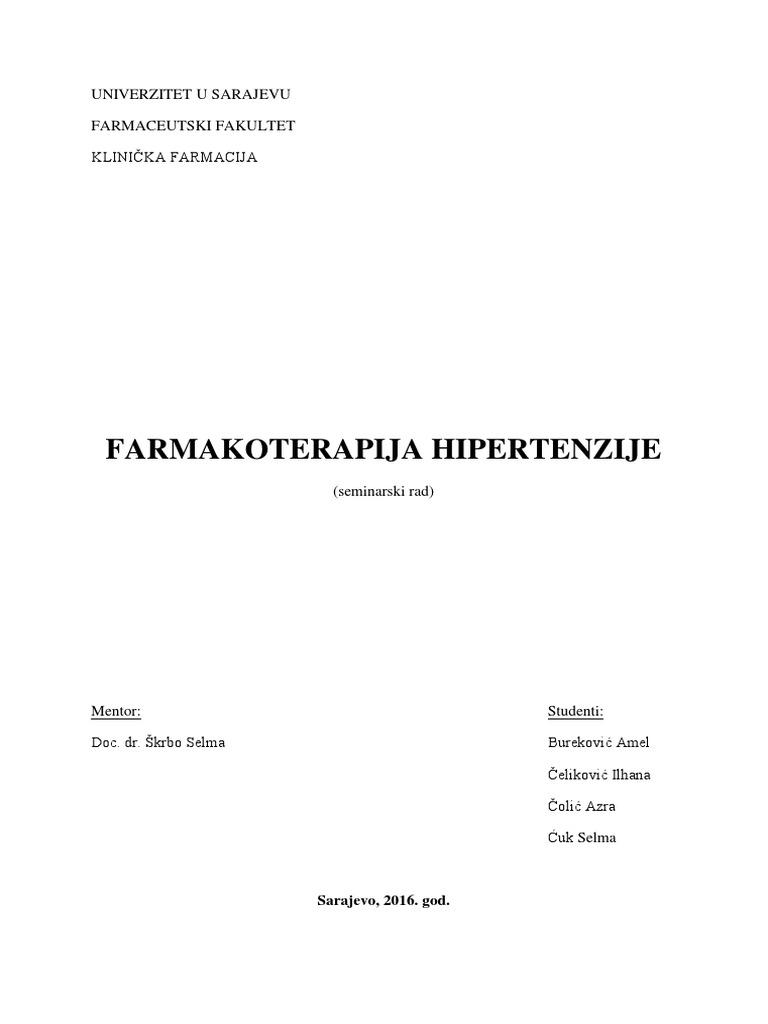 hipertenzije nefropatija