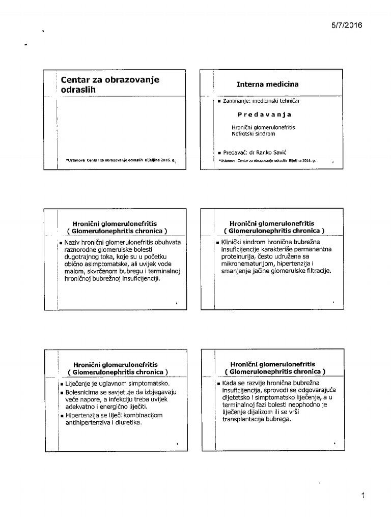 hipertenzija u gerijatriji ciljevi za liječenje hipertenzije