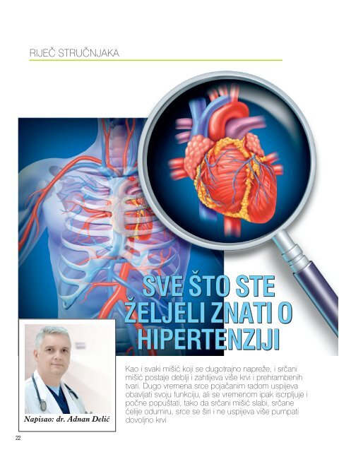 hipertenzija, srčani rad sekundarna klasifikacija hipertenzije