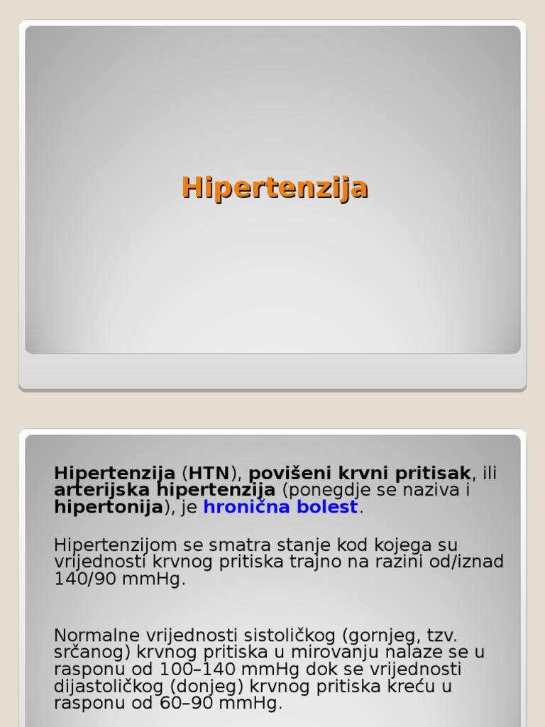Što je arterijska hipertenzija? / Hipertenzija (povišeni krvni tlak) / Centri A-Z - unknown-days.com